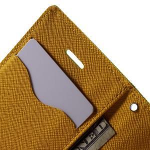 Fancys PU kožené puzdro pre iPhone 4 - zelené - 6