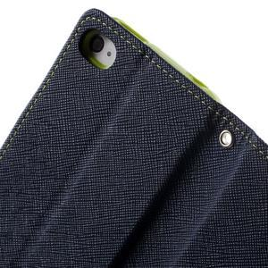 Fancys PU kožené pouzdro na iPhone 4 - tmavěmodré - 6