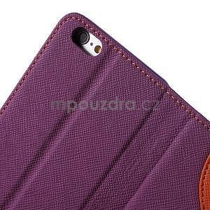 Klopové puzdro pre iPhone 6 a iPhone 6s - fialové - 6