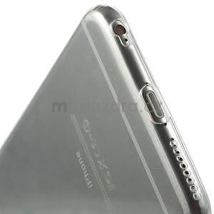 Ultra slim lesklý gélový obal pre iPhone 6 Plus a 6s Plus - transparentný - 6