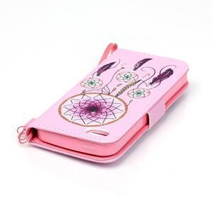 Peňaženkové puzdro pre mobil iPhone SE / 5s / 5 - dream - 6