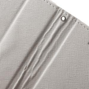 Cross PU kožené puzdro pre iPhone SE / 5s / 5 - biele - 6