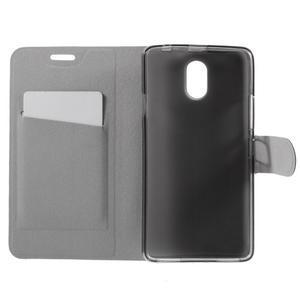 Horse peňaženkové puzdro pre Lenovo Vibe P1m - modré - 6