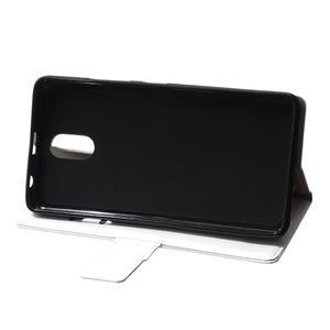 GX koženkové peňaženkové na mobil Lenovo Vibe P1m - biele - 6