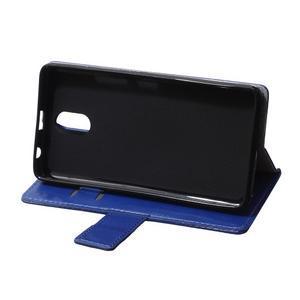 GX koženkové peňaženkové pre mobil Lenovo Vibe P1m - modré - 6