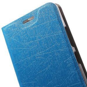 Klopové puzdro pre mobil Lenovo Vibe P1m - svetlo modré - 6