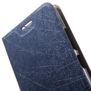 Klopové puzdro na mobil Lenovo Vibe P1m - tmavo modré - 6