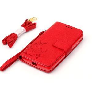 Magicfly pouzdro na mobil LG Leon - červené - 6