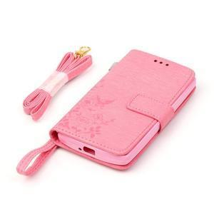 Magicfly puzdro pre mobil LG Leon - rose - 6
