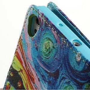 Obrazové peňaženkové puzdro na Huawei Ascend P7 - loďka - 6
