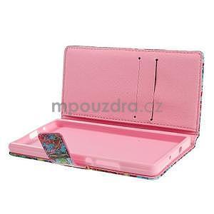 Obrazové peňaženkové puzdro na Huawei Ascend P7 - strom - 6
