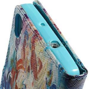 Obrazové peňaženkové puzdro na Huawei Ascend P7 - abstrakt - 6