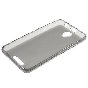 Gélový obal pre mobil Lenovo A5000 - šedé - 6