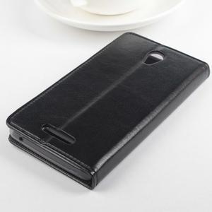 GT peňaženkové puzdro na Lenovo A5000 - čierné - 6