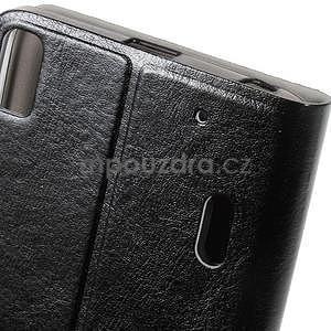 Hardy peňaženkové puzdro pre Lenovo A7000 a Lenovo K3 Note - čierne - 6