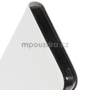 Hardy peňaženkové puzdro pre Lenovo A7000 a Lenovo K3 Note -  biele - 6