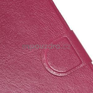 Hardy peňaženkové puzdro na Lenovo A7000 a Lenovo K3 Note - rose - 6