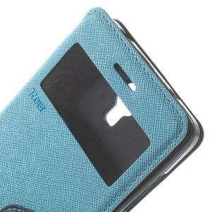 Root puzdro s okienkom pre Xiaomi Mi4 - svetlo modré - 6
