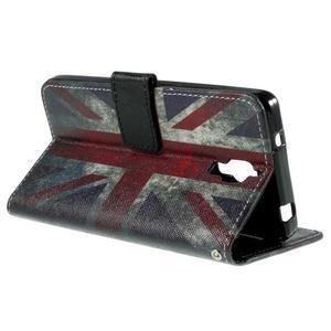 Cross peňaženkové puzdro na Xiaomi Mi4 - UK vlajka - 6