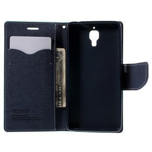 Mr. Fancy peňaženkové puzdro na Xiaomi Mi4 - azurové - 6