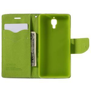 Mr. Fancy peňaženkové puzdro na Xiaomi Mi4 - tmavo modré - 6