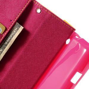 Mr. Fancy peňaženkové puzdro pre Sony Xperia L - žlté - 6