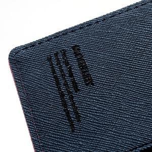 Mr. Goos peňaženkové puzdro na Sony Xperia Z - rose - 6