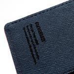 Mr. Goos peňaženkové puzdro na Sony Xperia Z - rose - 6/7