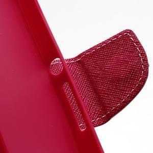 Mr. Goos peňaženkové puzdro na Sony Xperia Z - růžové - 6