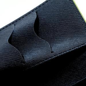 Mr. Goos peňaženkové puzdro na Sony Xperia Z - zelené - 6