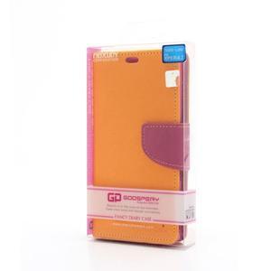 Mr. Goos peňaženkové puzdro pre Sony Xperia Z - žlté - 6
