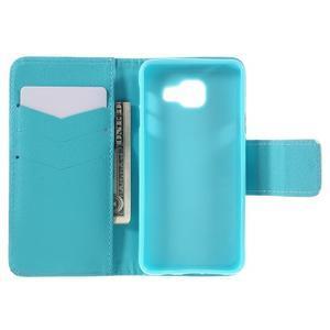 Peňaženkové puzdro pre mobil Samsung Galaxy A3 (2016) - slon - 6