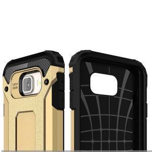 Extreme outdoor kryt 2v1 pre mobil Samsung Galaxy A3 (2016) - zlatý - 6