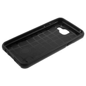 Odolný ochranný obal 2v1 pre mobil Samsung Galaxy A3 (2016) - čierný - 6