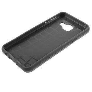 Odolný ochranný obal 2v1 pre mobil Samsung Galaxy A3 (2016) - šedý - 6