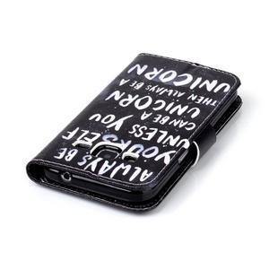 Emotive peněženkové pouzdro na Samsung Galaxy Core Prime - unicorn - 6
