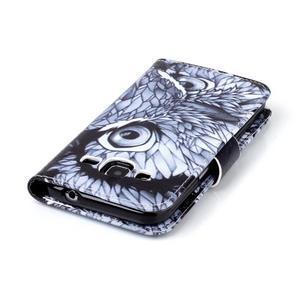 Emotive peňaženkové puzdro pre Samsung Galaxy Core Prime - sova - 6