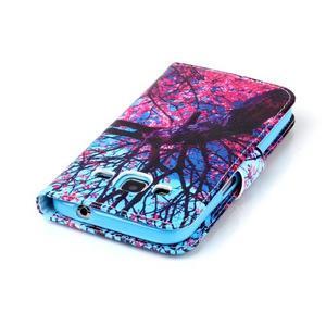 Emotive peňaženkové puzdro pre Samsung Galaxy Core Prime - strom - 6