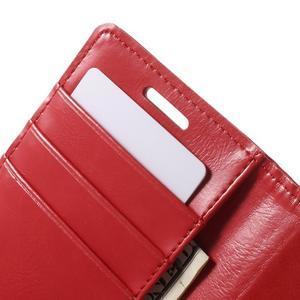 Moonleather PU kožené pouzdro na Samsung Galaxy Core Prime - červené - 6