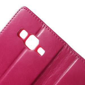 Moonleather PU kožené pouzdro na Samsung Galaxy Core Prime - rose - 6
