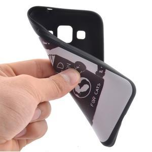 Hardy gélový obal pre mobil Samsung Galaxy Core Prime - mačička čte - 6