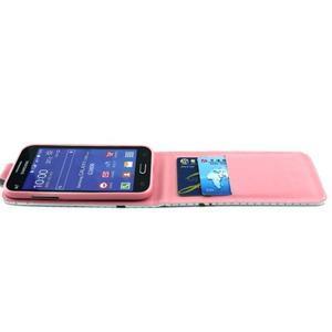 Flipové puzdro pre mobil Samsung Galaxy Core Prime - zamilované sovy - 6
