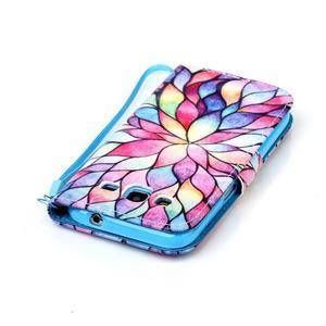 Pictu puzdro pre mobil Samsung Galaxy Core Prime - malované kvety - 6