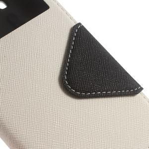 Roar PU kožené pouzdro s okýnkem na Samsung Galaxy J3 (2016) - bílé - 6