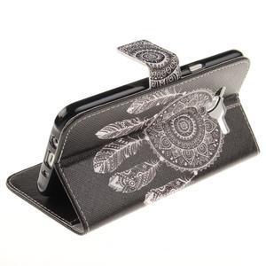 Standy peňaženkové puzdro pre Samsung Galaxy J5 - lapač snov - 6