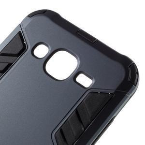 Odolný kryt 2v1 se stojánkem na Samsung Galaxy J5 - tmavěmodrý - 6