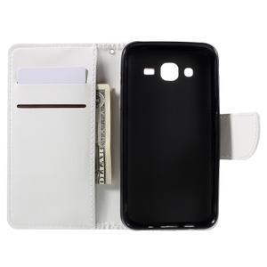 Peněženkové pouzdro na mobil Samsung Galaxy J5 - bílé - 6