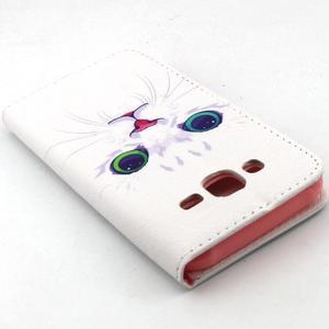 Knížkové puzdro pre mobil Samsung Galax J5 - mačička - 6