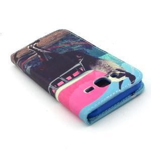 Knížkové pouzdro na mobil Samsung Galax J5 - lama - 6