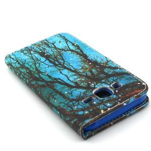 Knížkové puzdro pre mobil Samsung Galax J5 - strom - 6
